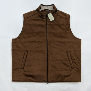 Peter Millar Crown Fleece Wool & Cashmere Vest 2XL